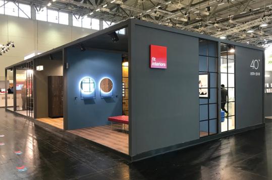 stand design, Fit Interiors, FIBO 2018
