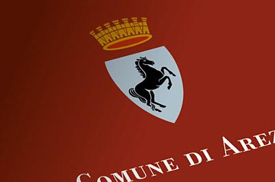 Fiera antiquaria di Arezzo, Comune di Arezzo, segnaletica, mappe, wayfinding, lettering, lapidi toponomastiche, PIUSS