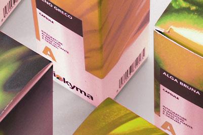 Flaconi, etichette, scatole, espositori, erboristeria, farmacia