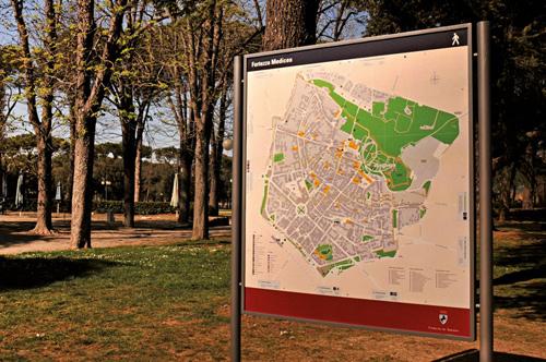 segnaletica e mappe Arezzo