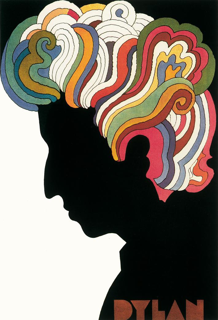 Milton Glaser, Bob dylan