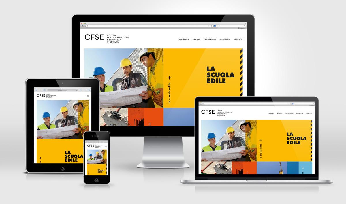 Scuola Edile Arezzo, CFSE, website