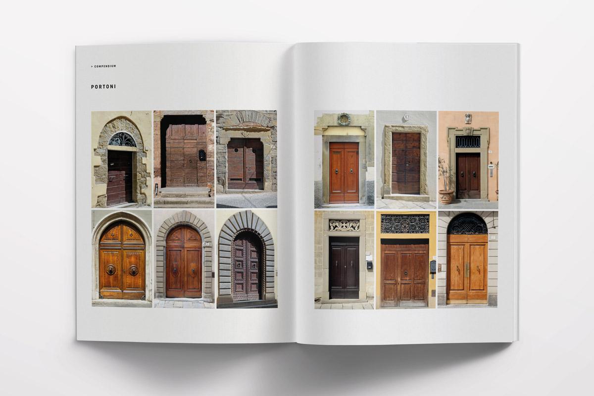 De Signs Arezzo, paesaggio urbano di una città toscana. Libro fotografico. I segni della città è la sua identità.