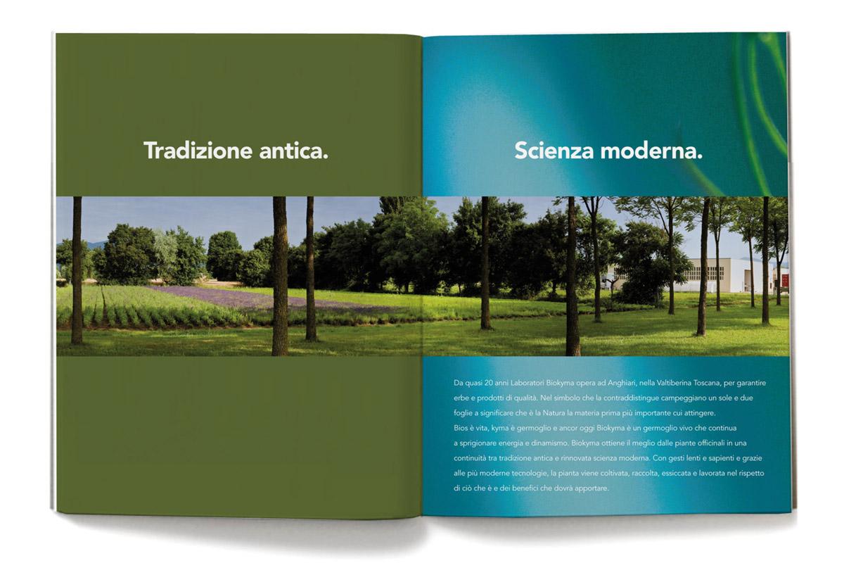 Biokyma, brand identity, company profile, Arezzo, Sansepolcro