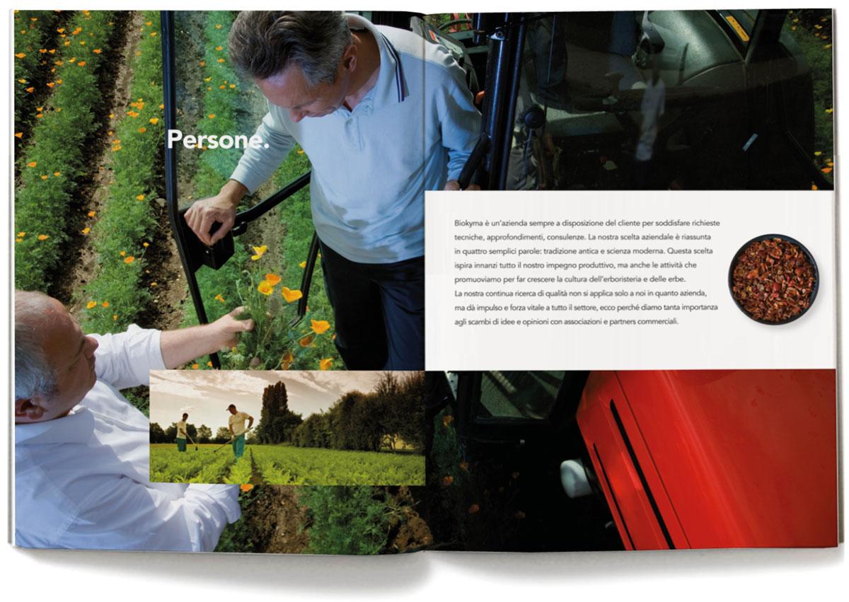 Biokyma, brand identity, publishing, company profile, Arezzo, Sansepolcro