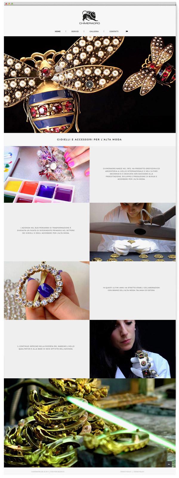 Gioielleria, accessori, alta moda